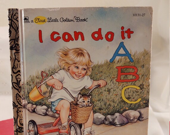 1994 A First Little Golden Book - I Can Do It ABC