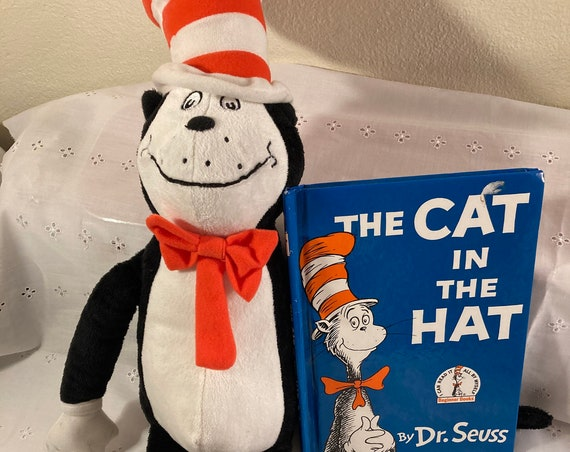 Vintage 1967 Cat in the Hat by Dr. Seuss - Comes with a Plush Cat in the Hat Stuffed Character by Kohl's Kids Project