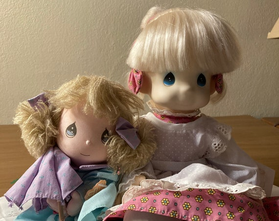 Vintage Precious Moments Dolls 1990 Applause Collectable and Precious Moments Doll Patty