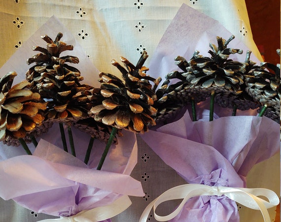 Pinecone Bouquets