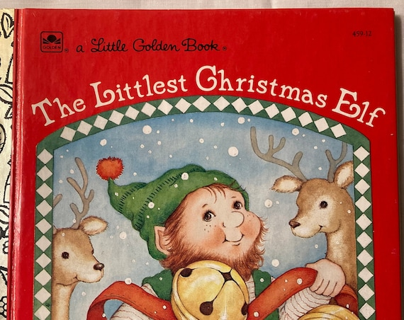 1987 The Littlest Christmas Elf; A Little Golden Book