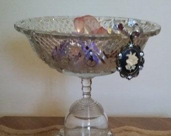 Glass Jewelry Dish