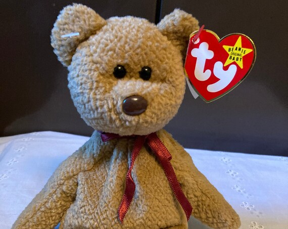 TY Curly Beanie Baby  1996