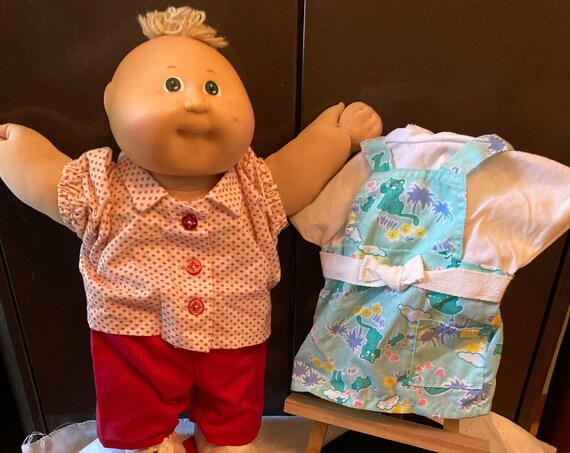 Cabbage Patch Toddler Outfits - Genuine Cabbage Patch Toddler Clothes (Cabbage Patch Toddler sold Separately)
