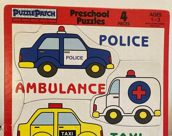 1999 Puzzle Patch Puzzle -4 Piece Tray Puzzle