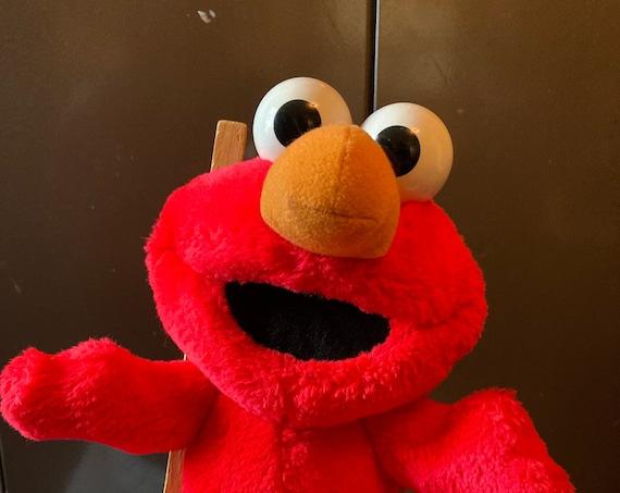 Vintage Tickle Me Elmo - Stuffed Doll Toy Animal 1996 90s Toys Games Sesame Street
