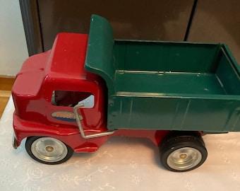 1996 Tonka Green And Red Dump Truck