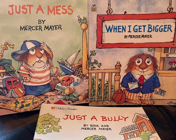 Just a Mess (1987) - Just a Bully (1999 First Edition) - When I Get Bigger (1999) and (1996)