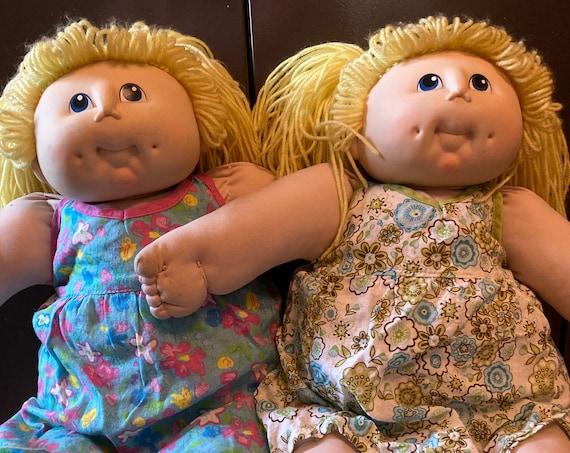 "Vintage ""The Original"" Doll Baby 1984 Martha Nelson M.N. Thomas Girl Doll Blonde"