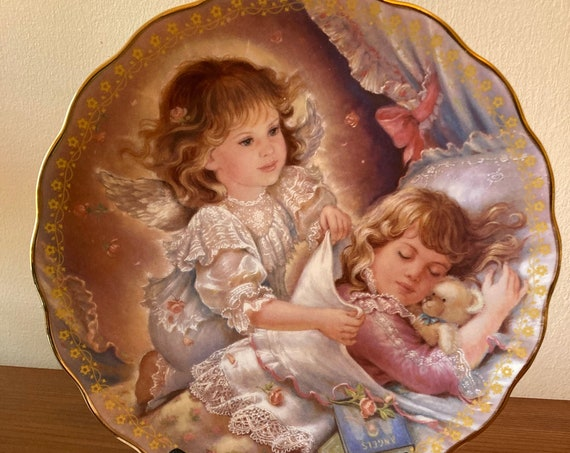 """Blessing My Dreams - Brenda Burke 8"""" Collector Plate  (Stand NOT Included)"""
