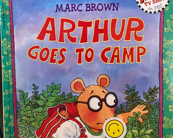 Arthur Goes To Camp - An Arthur Adventure - Vintage 1982