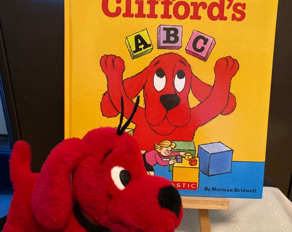Clifford's ABC Hard Cover Book by Norman Bridwell