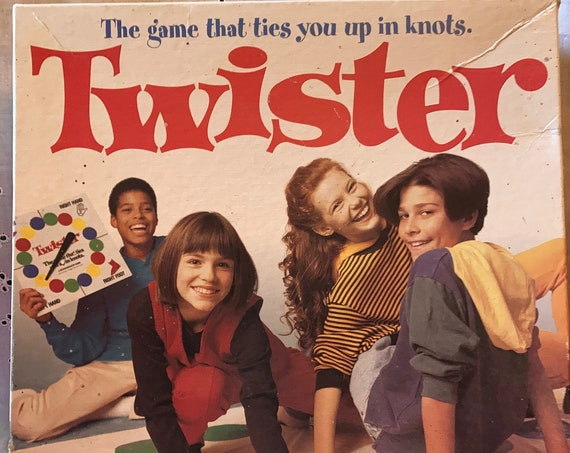 Vintage 1998 Twister Game by Hasbro - Fun Family Night Game of Twister