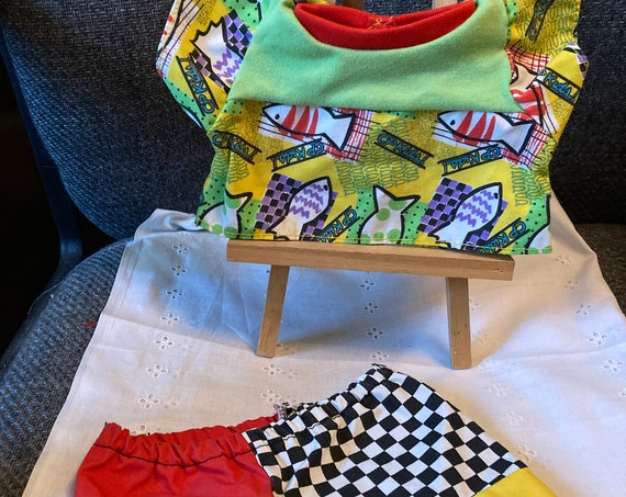 Cute Pair of Doll Shorts and a Summer Top