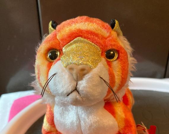 Zodiac TY Tiger Beanie Baby - Tiger Chinese Zodiac TY Beanie Babie