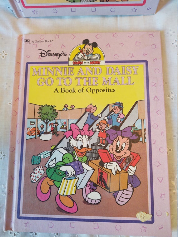 A Golden Book Collection - Learn with Micky -- Donald's Attic Adventure and Minnie and Daisy Go to the Mall