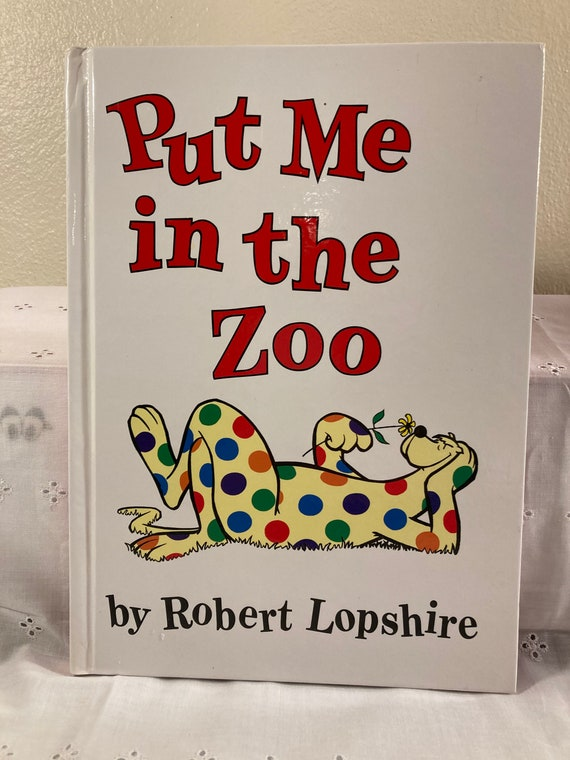 Put Me in the zoo by Robert Lopshire - A Kohl's Cares for Kid's Book (1988) - FREE SHIPPING
