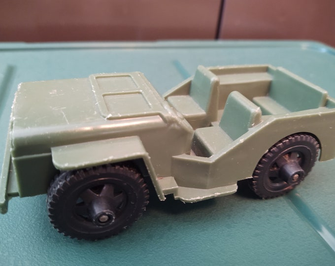 Featured listing image: Rare Vintage 1970's TIM-MEE Military Jeep-US Army Green