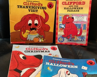 Clifford The Big Red Dog - 2 Vintage Holiday Sets Available