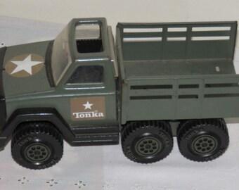 Rare 1978 Tonka Army Truck