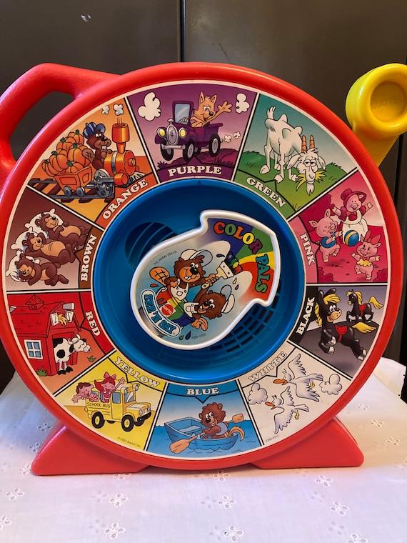 1992 Color Pals See 'n Say - Vintage Matel Toys - 90s Nostalgia - 1990s Kids