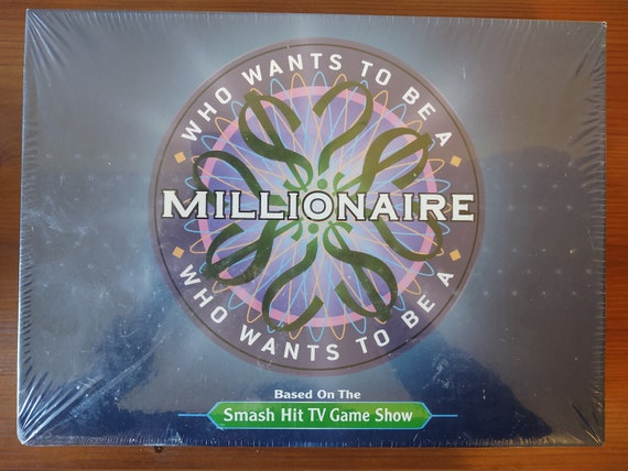 Who wants to Be A Millionaire Board game - COMPLETE GAME - Sealed English Addition