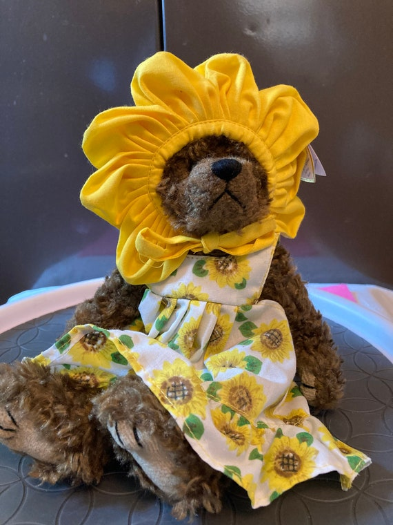 Vintage Beanie Baby TY Susannah You are My Sunshine Sunflower Beanie Baby - TY Susannah Beanie Baby
