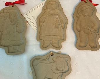 Rare Vintage Baking Cookie Press Molds