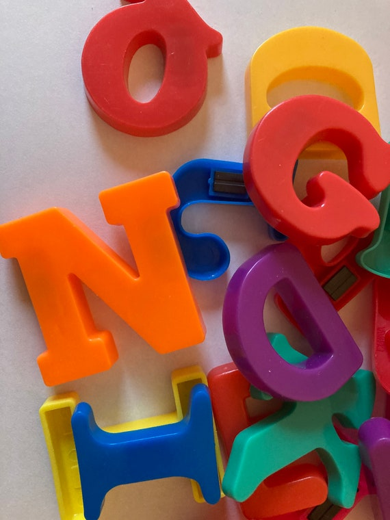 Replacement Magnetic ABC Letters and Numbers Choose from Uppercase  Lowercase or Numbers