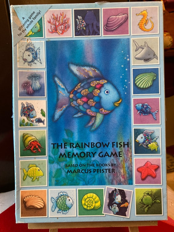The Rainbow Fish Memory Game - Based on the Book, Rainbow Fish by Marcus Pfster