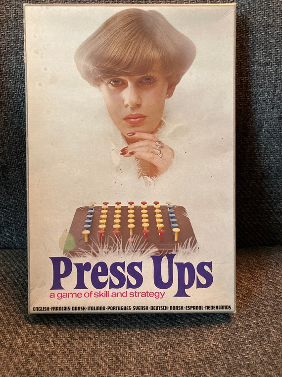 1974 Vintage Board Game Press Ups --From the Makers of Master Mind