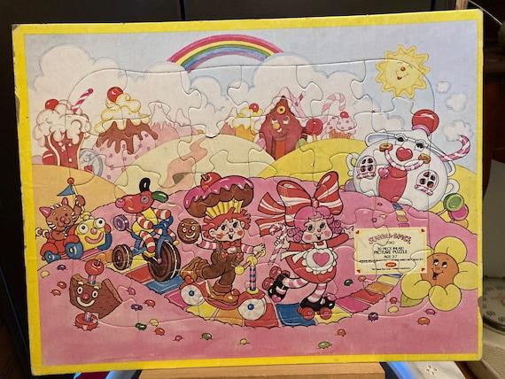 Choose your Puzzle - Sugar & Spice 30 Piece Picture Puzzle -1981 Colorforms Puzzle Jaymar