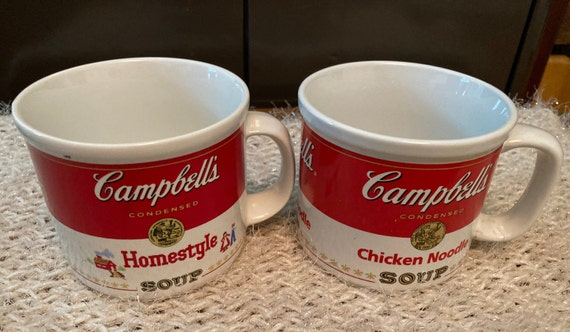 Homestyle and Chicken Noodle Soup Campbell Mugs