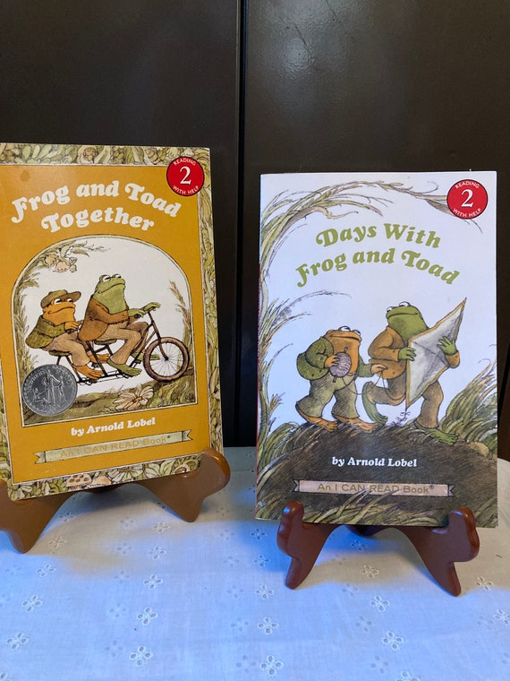 Two Classic Frog and Toad Books - I Can Read Books by Arnold Lobel