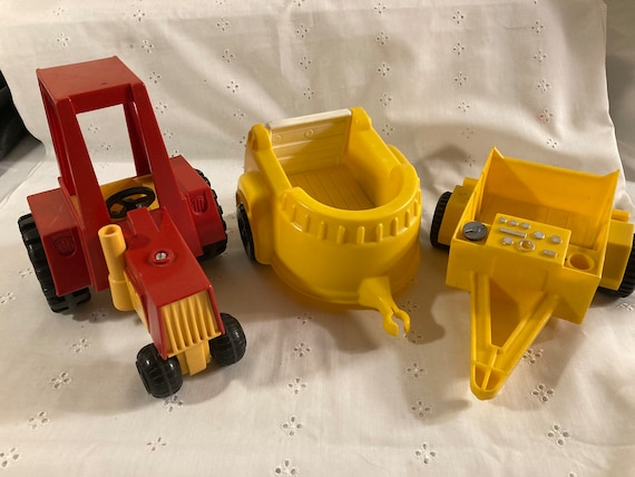 Vintage Fisher Price Farm Toys