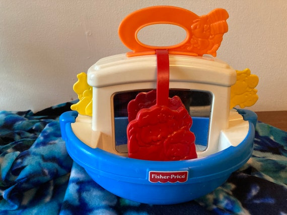 Fisher Price Noah's Ark Baby Boat - 1998