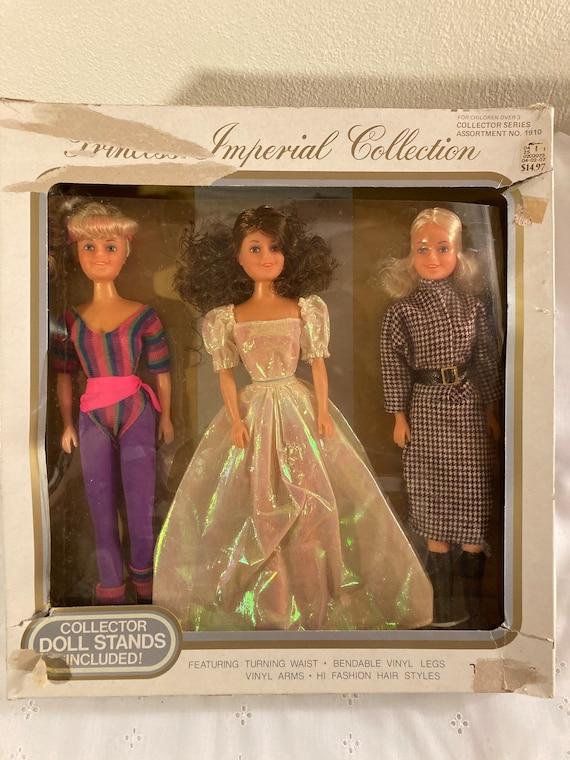 Vintage Uneeda Dolls Princess Imperial Collection