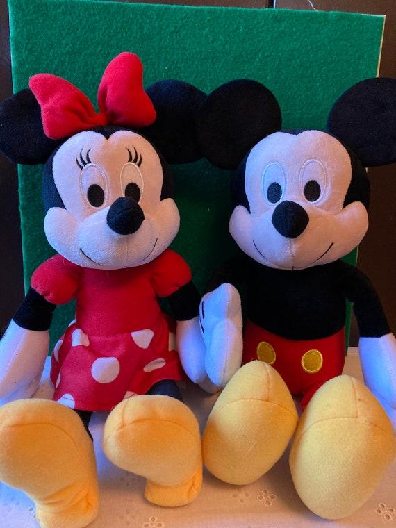 "Kohl's Cares Mickey Preschool Plush - Mickey - Kohls Cares MInnie Mouse 13"" Plush Stuffed Doll"