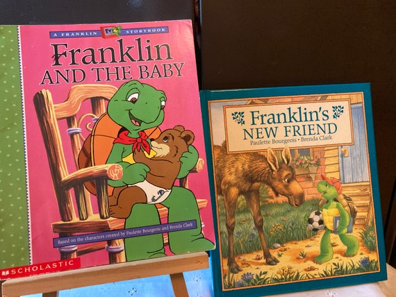Franklin and the Baby - A First Scholastic Printing November 1999 - A Franklin Storybook Franklin's New Friend (1997)