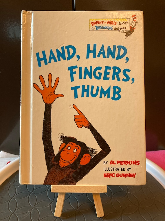 Hand, Hand, Fingers, Thumb By Al Perkins - Bright and Early Book for Beginning Readers