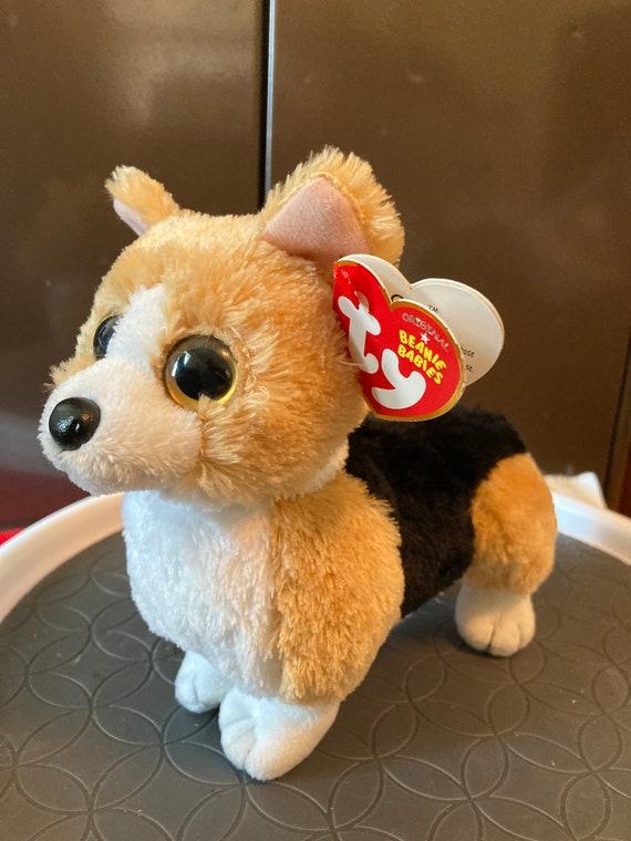 TY Otis Corgi Beanie Baby Dog - 215 TY Corgi Otis Beanie Baby Dog