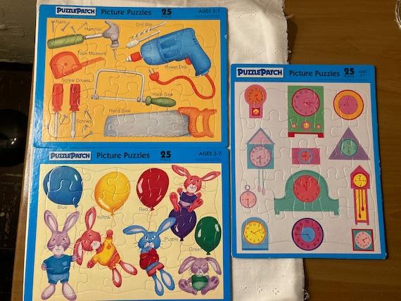Vintage 1993 25 Piece Puzzle Patch Puzzles