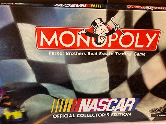 Vintage Monopoly NASCAR Official Collector's Edition 1997 NIB VTG - Complete Nascar 1997 Monopoly Game