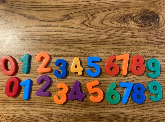 Fisher Price Set of Numbers from 0-9
