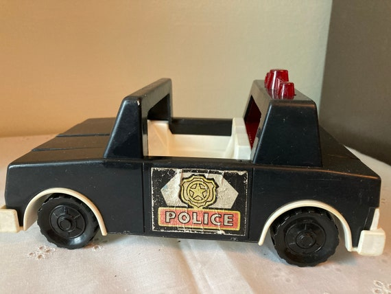 1980's Vintage Fisher Price Police Car
