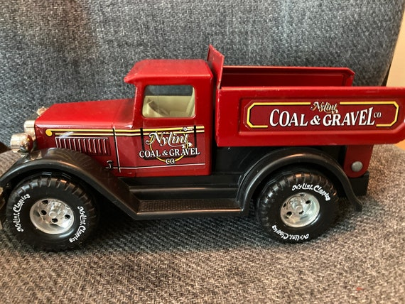 1990''s Vintage Nylint Coal and Gravel Dump Truck