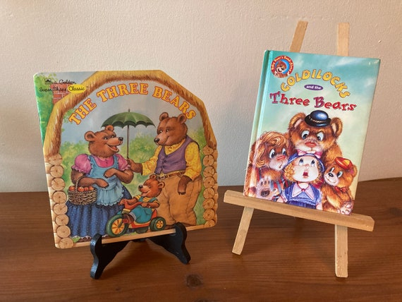 Two Vintage Classic Tales of Goldilocks and the Three Bears