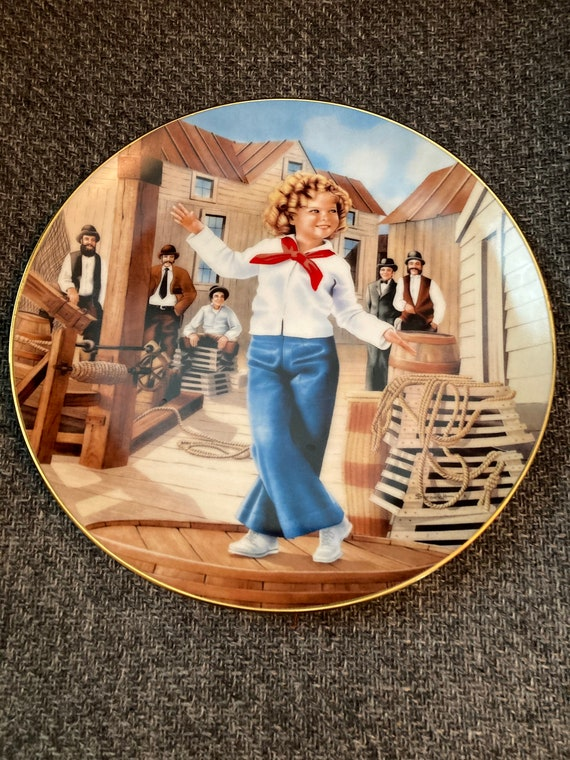 Shirley Temple Plates Created by the Danbury Mint