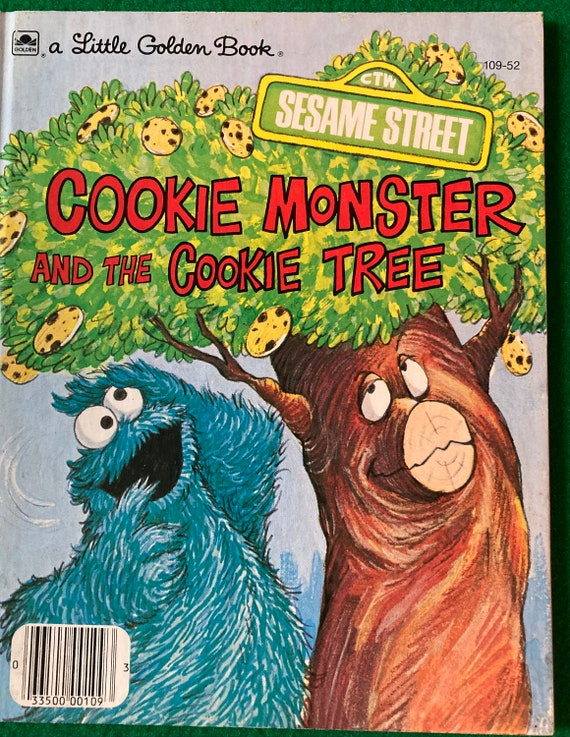 Sesame Street. Cookie Monster and the Cookie Tree. 1977. By David Korr, illustrated by Joe Mathieu. Jim Henson Muppets. Golden Book.