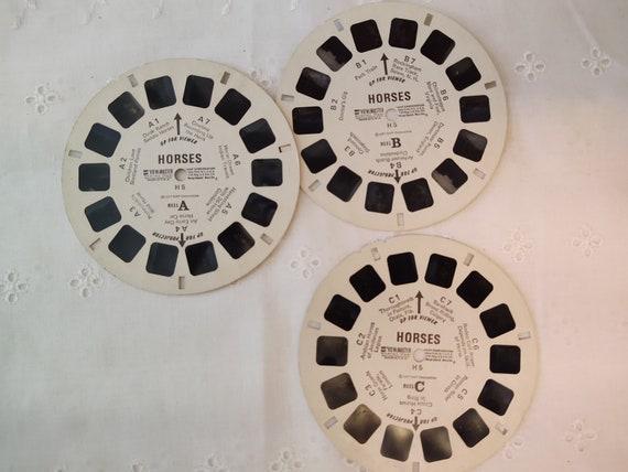 Vintage View Master Slides